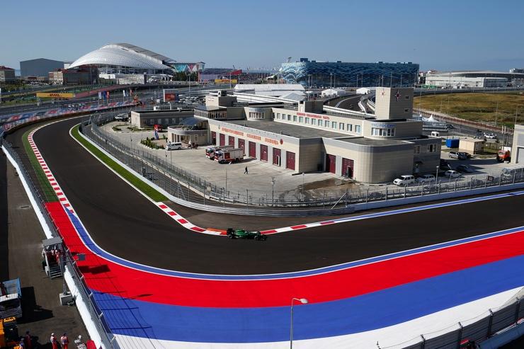 Sochi Autodrom Track