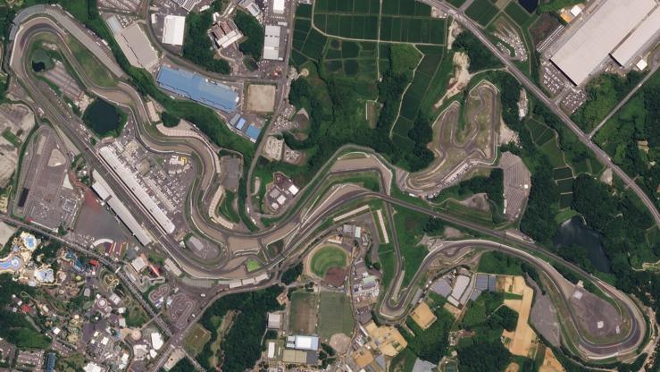 Suzuka Circuit Aerial View