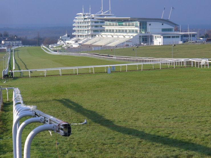 Epsom Racecourse Home Straight