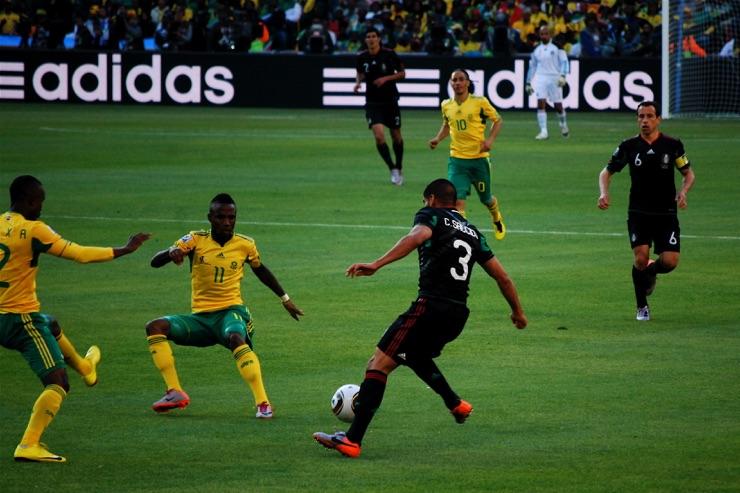 South African football team