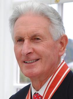 Bob Charles, famous New Zealand golfer