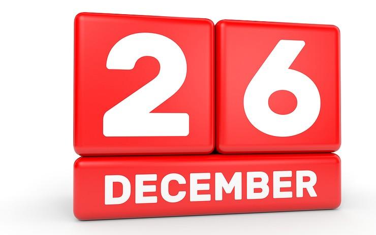 26th December Red Blocks