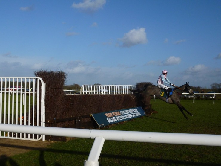 A P McCoy Riding Horse Over Fence