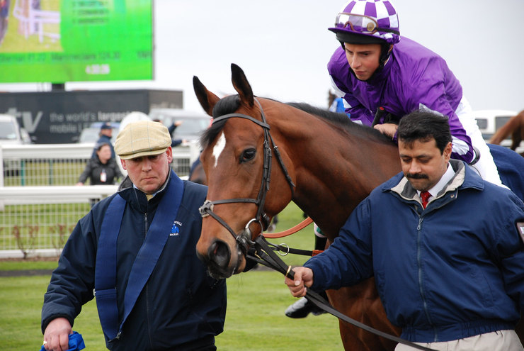 Aspro Marvo with William Buick at Yarmouth