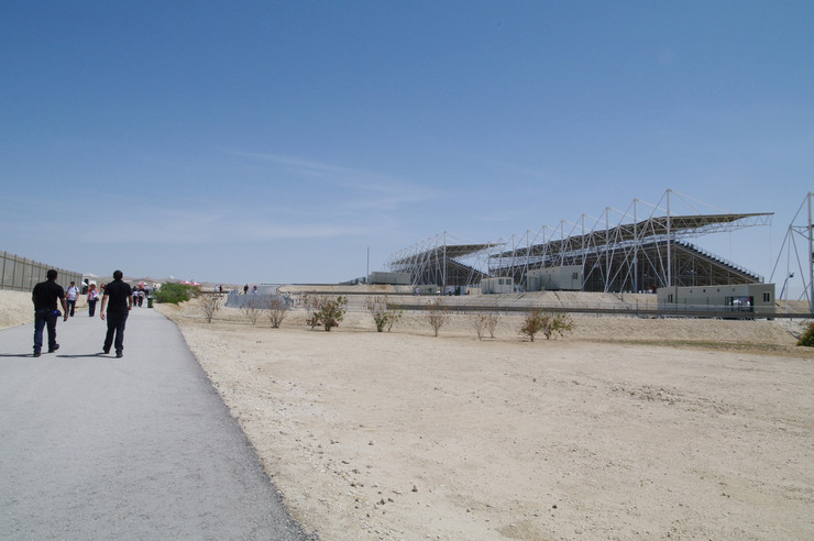 Bahrain International Circuit Exterior