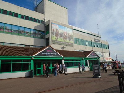 Brighton Racecourse Grandstand Entrance