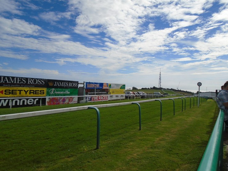 Brighton Racecourse Winning Post