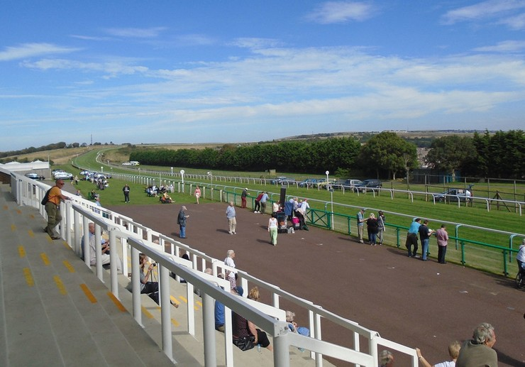 Brighton Racecourse from the Stands