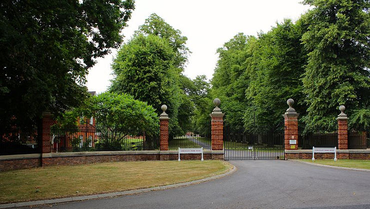 Cheveley Park Stud Entrance