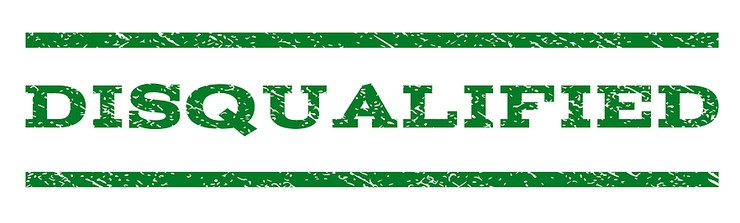 Disqualified Green Stamp