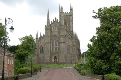 Down Cathedral, Downpatrick, Northern Ireland