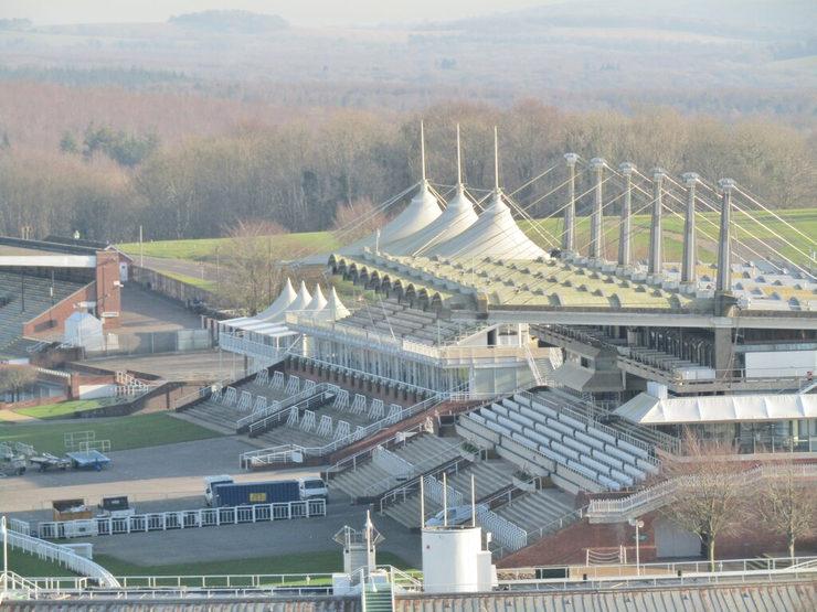 Goodwood Racecourse Empty Grandstands