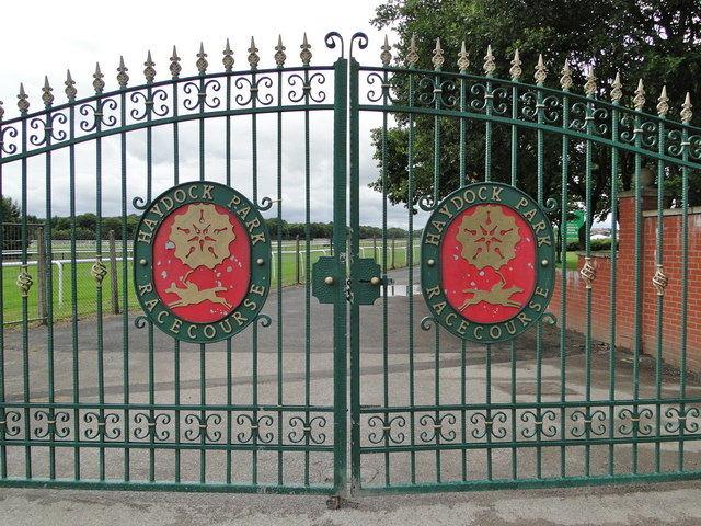 Haydock Park Gates