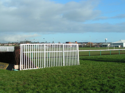 Hereford Racecourse Fence