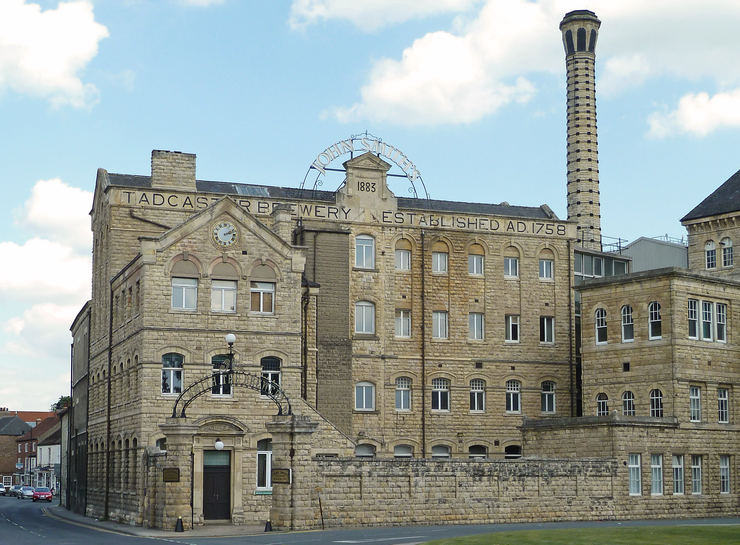 John Smiths Brewery in Tadcaster