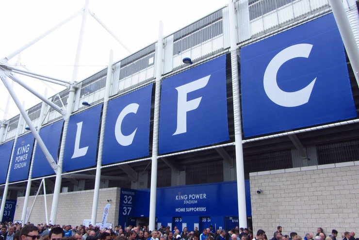 Leicester City Signage at the King Power Stadium