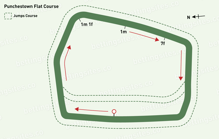 Punchestown Flat Racecourse Map