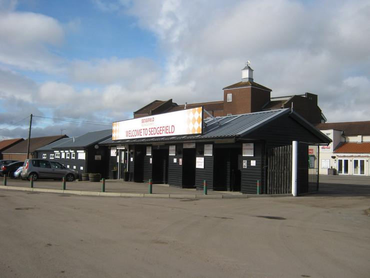 Sedgefield Racecourse Entrance