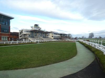 Taunton Racecourse Parade Ring