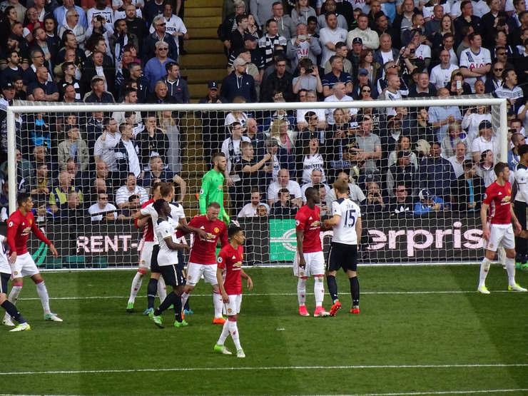 Tottenham Versus Manchester United
