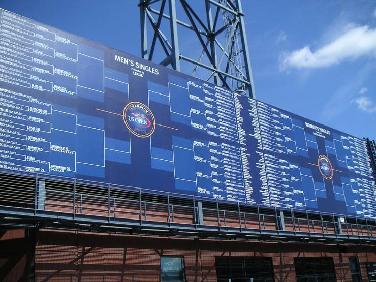US Open Scoreboard