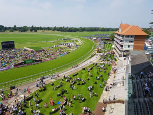 York Racecourse From Ebor Stand