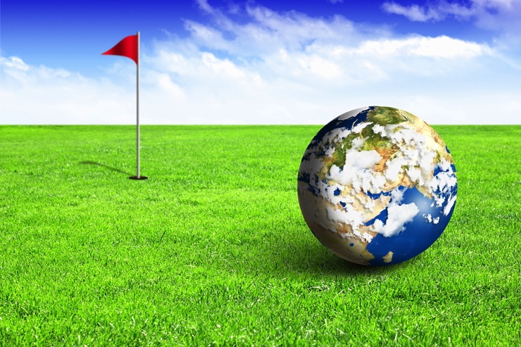 Global golf ball