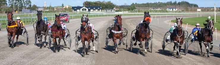Harness racing in Winton