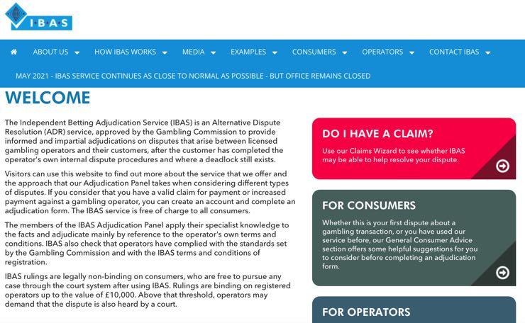 IBAS screenshot