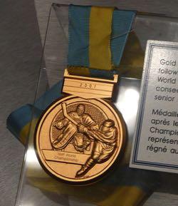 Ice Hockey World Championships medal
