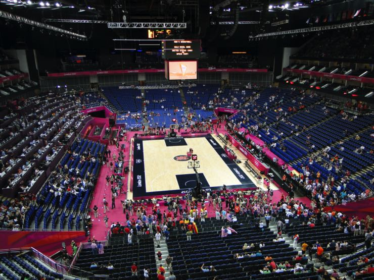 London 2012 Men's Basketball Final: USA vs Spain
