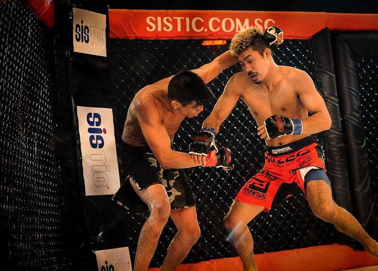 MMA close up