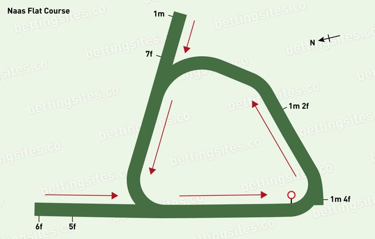 Naas Flat Racecourse Map