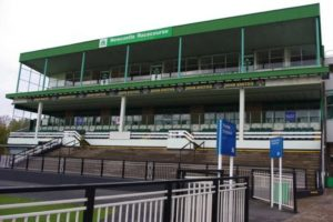 Newcastle Racecourse grandstand