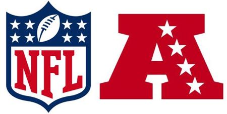 NFL & AFC logos