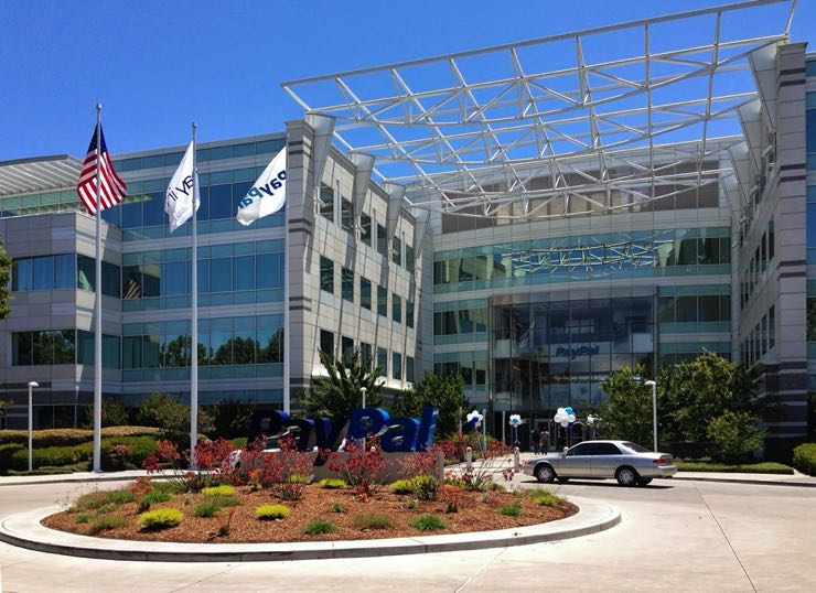 PayPal HQ in San Jose, California