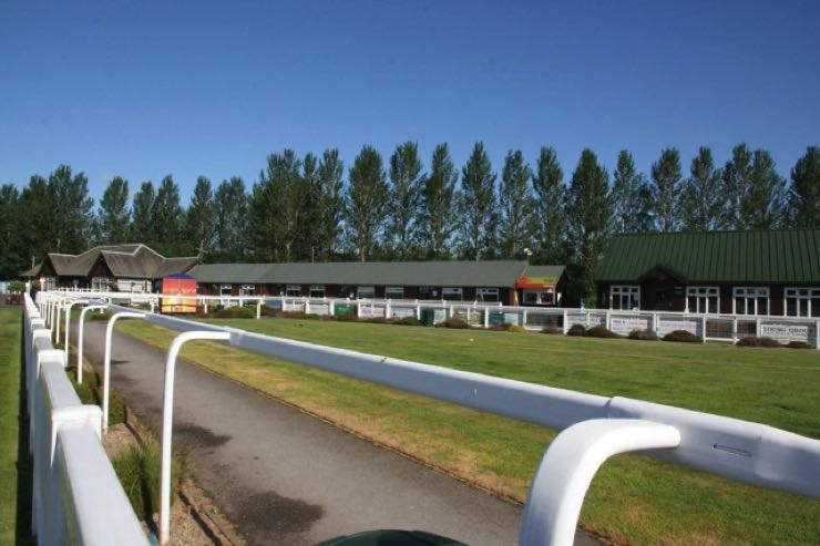 Perth Racecourse grandstand