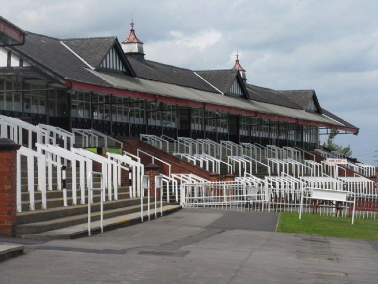 Pontefract Racecourse Grandstand