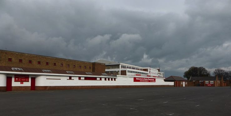 Redcar Racecourse from front entrance