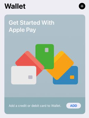 Setting up Apple Pay