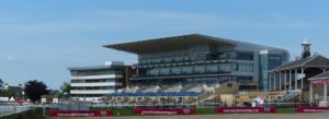 Doncaster grandstand, home of the St Leger Stakes