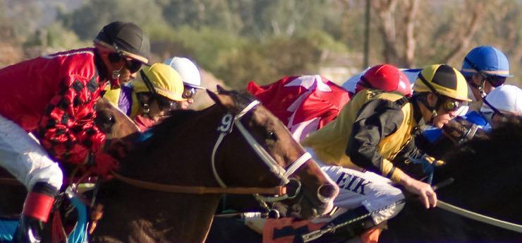 Up close jockeys