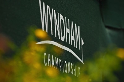 Wyndham Championship sign